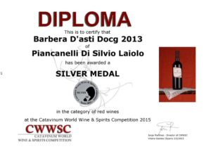Catavinum-2015-wine-spirits-competition-Spain-Cascina-Piancanelli-Barbera-d-Asti-DOCG_diploma_silver_medal