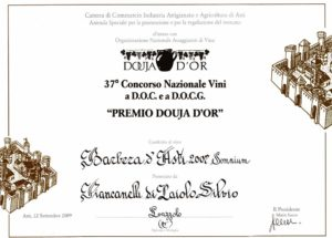 Douja-d-Or-2009-Barbera-d-Asti-Somnium-DOCG-barricato-Cascina-Piancanelli-winery-red-wine-barrique-aged-Asti-Piemonte-Italy