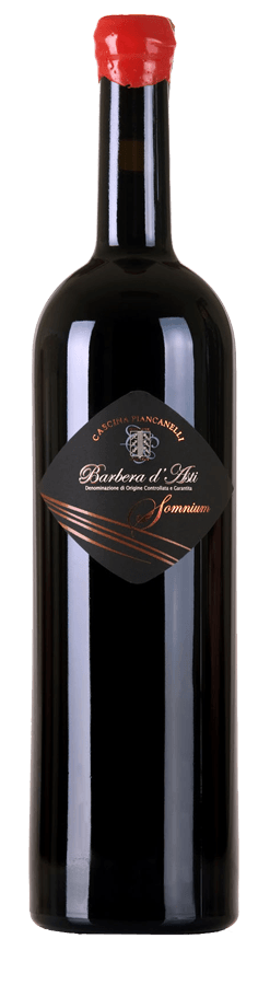 Somnium 1.5L Barbera d'Asti DOCG barricato e pluripremiato in wine contest e manifestazioni enologiche - Piancanelli awarded barrique aged red wine for roasted meats grills aged cheese
