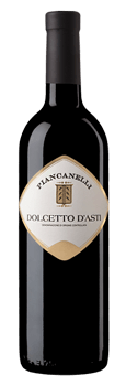 Dolcetto d Asti DOC Piancanelli premium winery red wine Canelli Piemonte